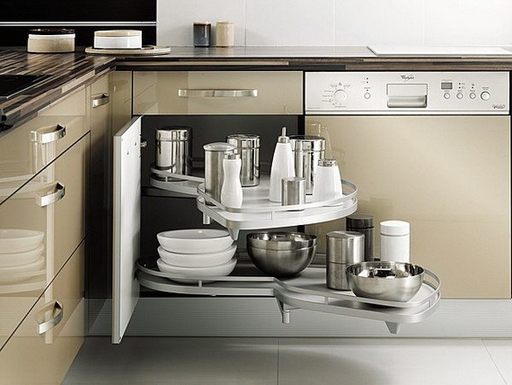 small kitchen storage solutions on a budget