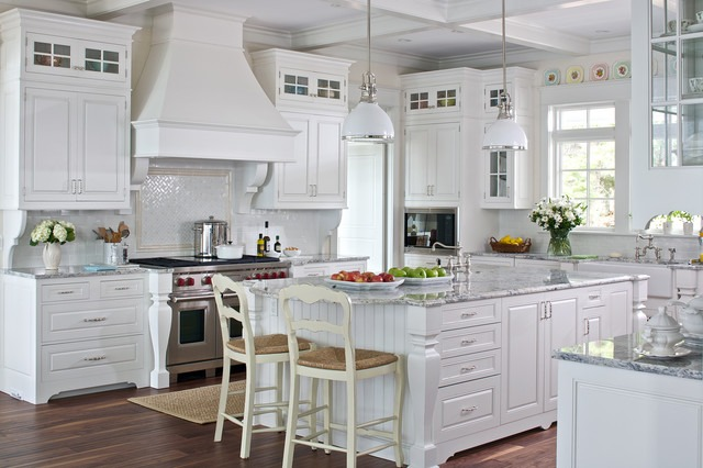 White Cottage Farmhouse Kitchens Country Kitchen Designs We Love Page 5 Of 7 Outintherealworld