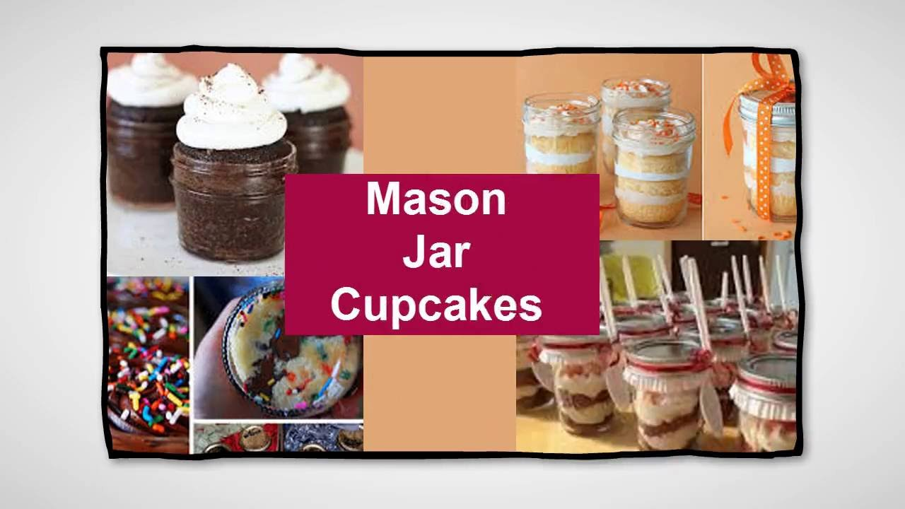 Cupcakes In a Jar?!?!  Oh YES!!! Mason Jar Cupcake Ideas For Her Baby Shower