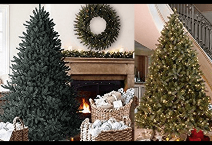 Best Artificial Christmas Trees Most Realistic Fake Led