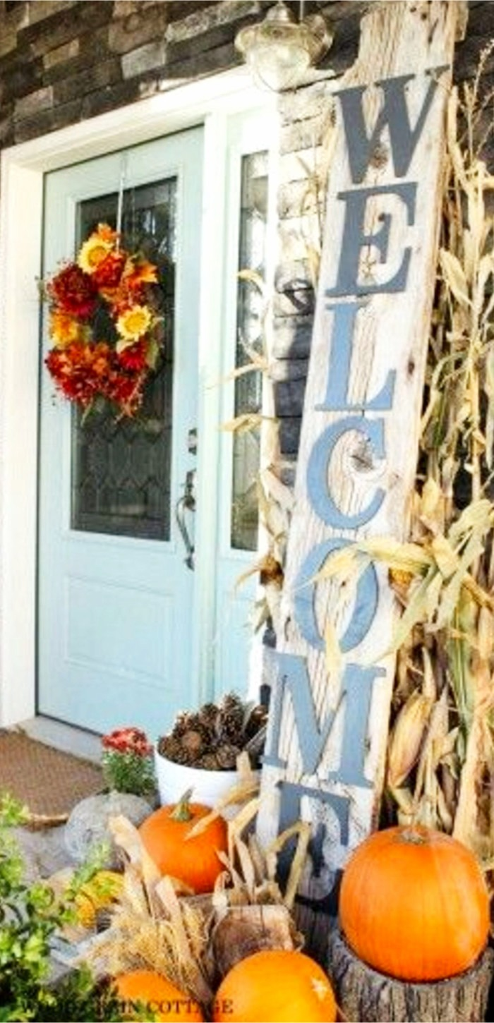 front porch decorating ideas for fall