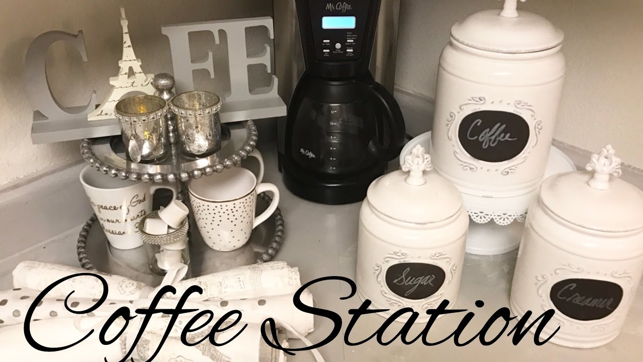 Kitchen Coffee Station Ideas Diy Home Coffee Bar Set Ups