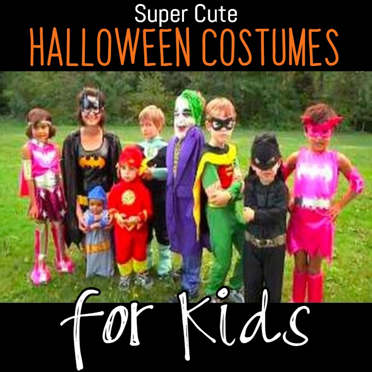Super cute Halloween Costume Ideas for the Kids this Year!