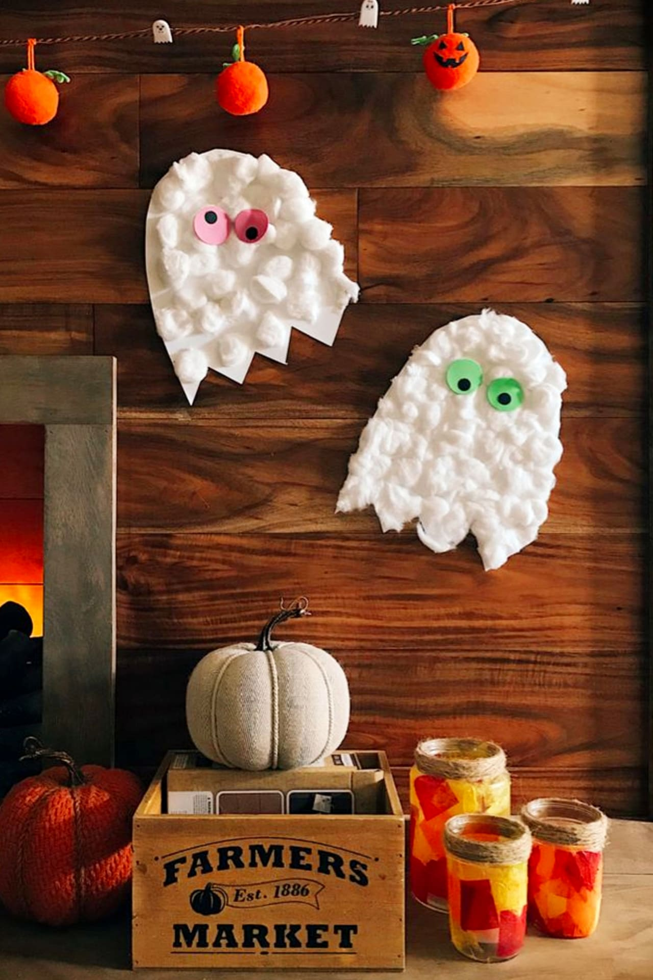 Easy Halloween crafts for toddlers to make - preschool crafts and art projects for Fall, Autumn and Halloween