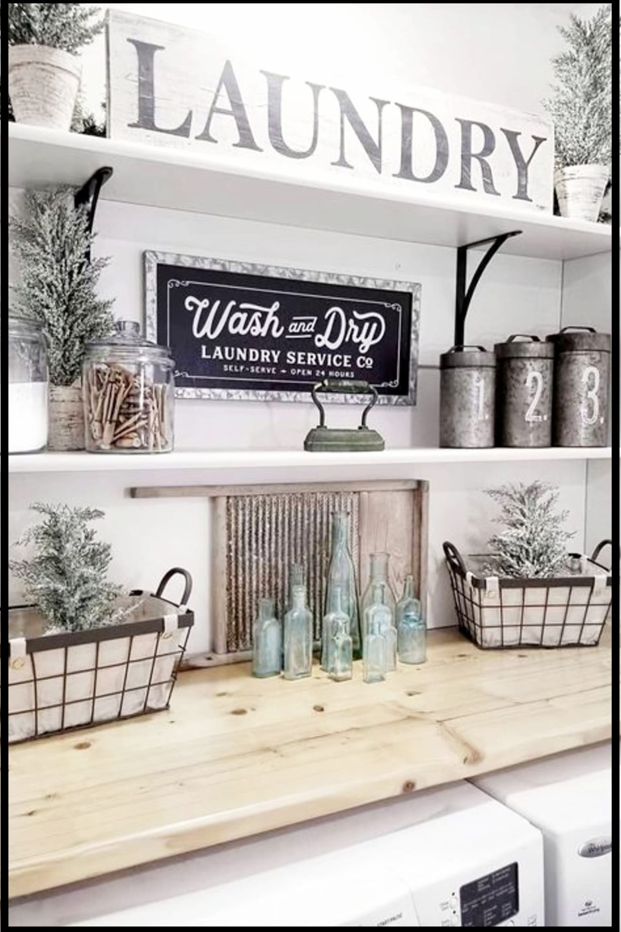 Farmhouse Style Small Laundry Room Ideas To Remodel Your