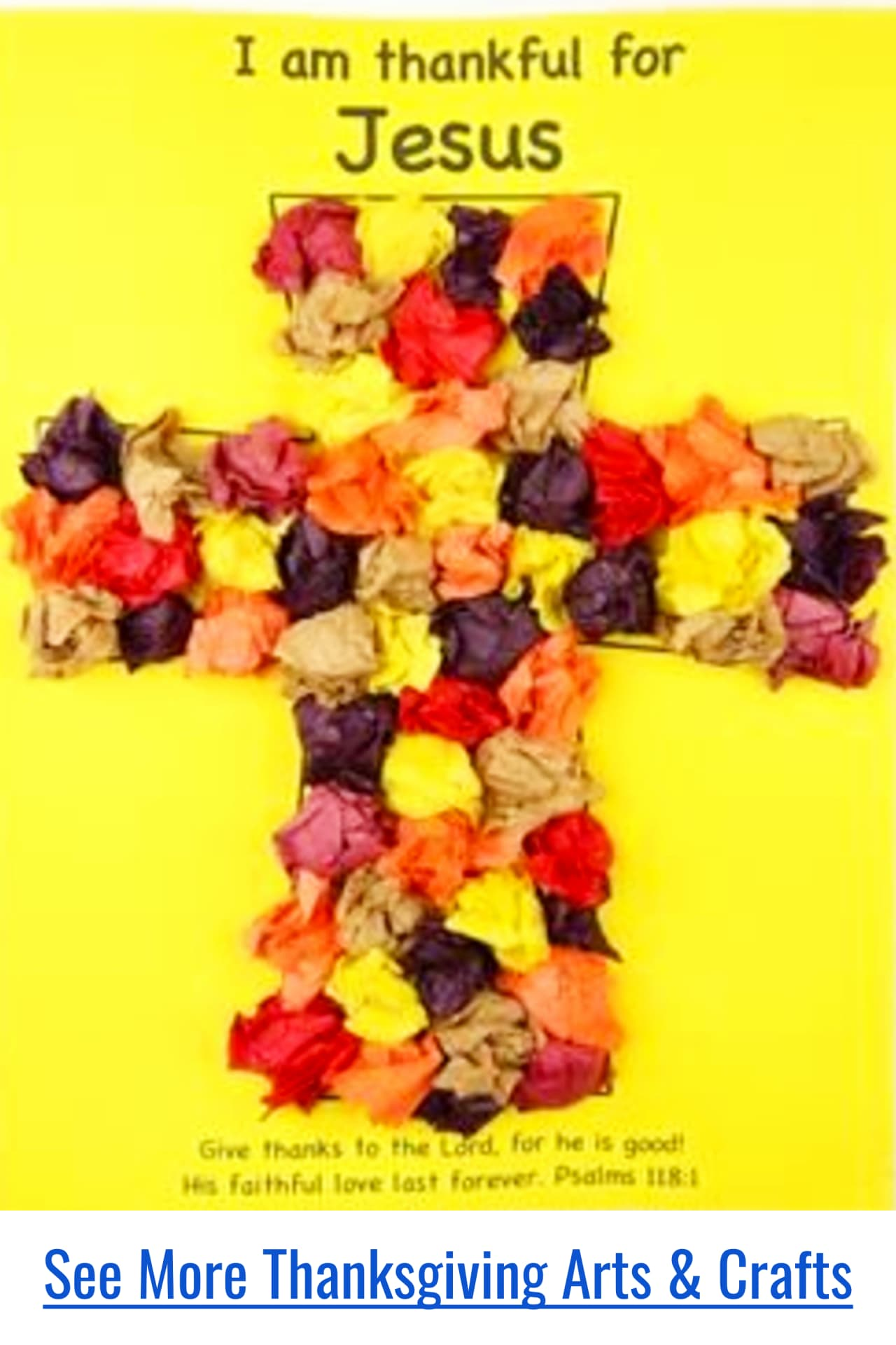 Thanksgiving Sucnday School crafts and art projects for toddlers and preschoolers to make at church, school, or home