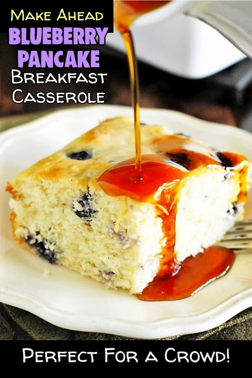 Make Ahead Breakfast For a Crowd - brunch party food ideas too - easy breakfast bundt cakes & make ahead brunch casserole recipes you can make the night before - make for easy funeral food ideas, brunch shower parties or family reunion / pot luck food ideas. Busy day breakfast ideas for a crowd, company, coworkers, hosting house guests, cold mornings, holidays etc. Easy breakfast for a crowd! Try these make ahead breakfast casseroles, cakes, muffins, french toast & more.