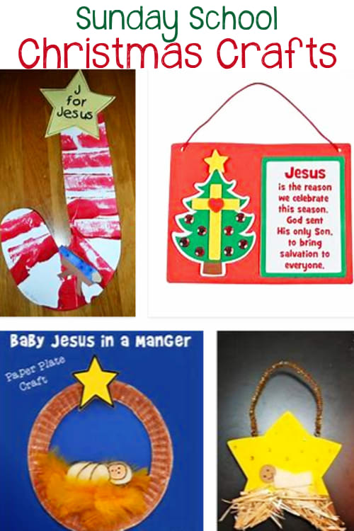 Christmas Crafts For Kids Sunday School Classroom and more Christmas Crafts For Kids - Easy Christmas Art For Kids To Make At Home Or School