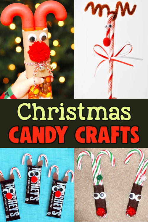 Christmas Candy Crafts and More Christmas Crafts For Kids