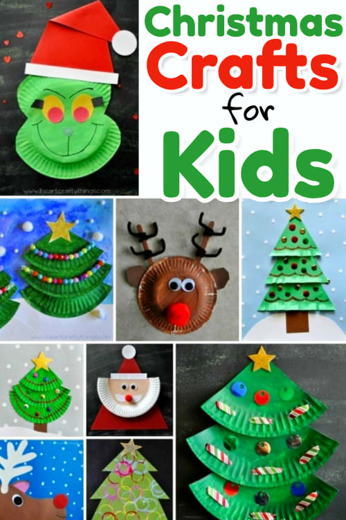 Christmas Crafts For Kids - 10 Best Christmas Crafts For Kids, Super Simple Christmas Crafts for Toddlers (age 2-3), Preschool And Kids Of All Ages To Make In The Classroom, At Home Or In Sunday School -  Kid Made Gifts for Christmas and Christmas craft projects using candy and edible items, paper plate crafts, candy canes, elf, reindeer, quick construction paper handprint and footprint crafts, angel Christmas crafts, popsicle sticks, fingerprint snowman Christmas art projects and more creative DIY Christmas crafts for kids