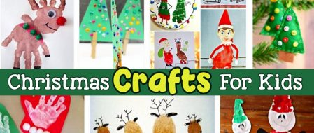 Christmas Crafts For Kids – Easy Christmas Art For Kids To Make At Home Or School