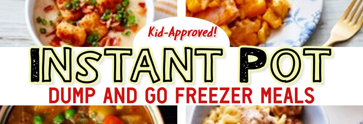 Easy Instant Pot Dump Recipes – From Freezer to Instant Pot in 30 Minutes or Less For a Stress Free Dinner Tonight