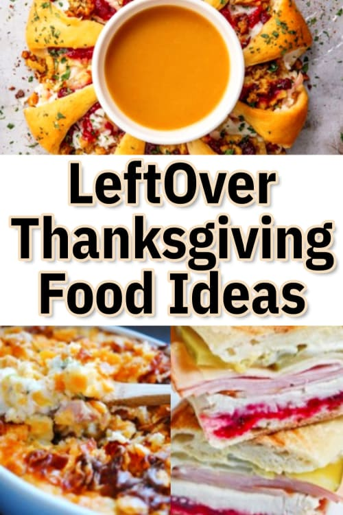 Got Thanksgiving Leftovers? Try these recipes for leftover Thanksgiving food.  Very cleaver and easy ways to use Thanksgiving and Christmas dinner leftovers. Let's repurpose those Thanksgiving leftovers!  Sometime you make this from Thanksgiving leftovers...