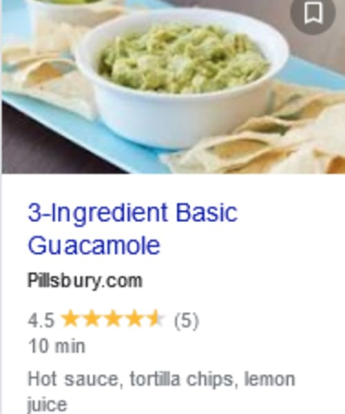3 Ingredient Cold Appetizers - easy 3 ingredient guac dip to make ahead or for a crowd