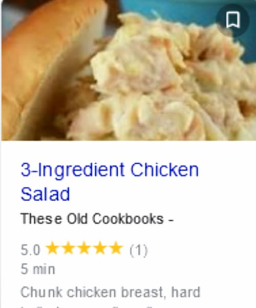 Cold Appetizer Ideas - easy 3 ingredient cold chicken salad dip for a crowd