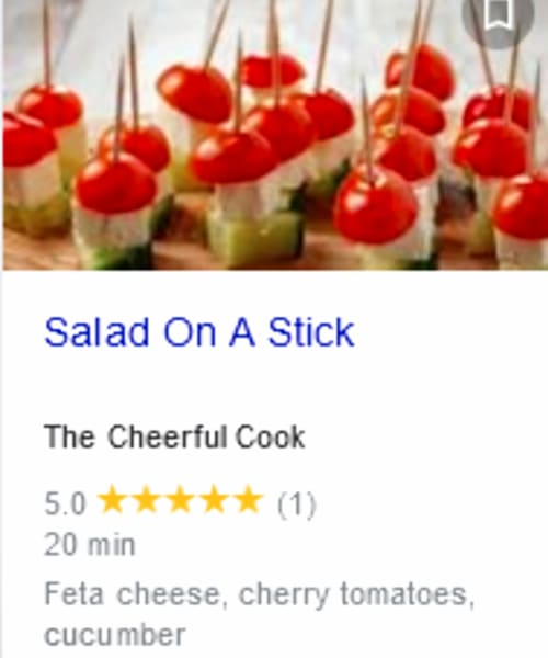 PotLuck Appetizers Cold 3 Ingredient Appetizers for a Crowd - fun and easy cold salad fingerfood or appetizer idea - salad on a stick