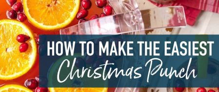 Christmas Punch Recipes – 12 Super Easy Christmas Themed Punch Recipes For a Crowd Or Small Gathering