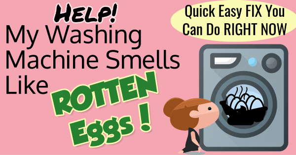 Washing machine smells like sewage & rotten eggs - tried everything. Here's how to remove rotten egg smells from your washing machine whether top load or front load washer