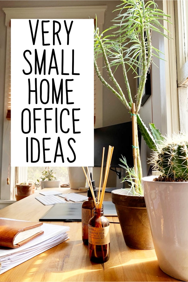 Home Office Ideas For Her - Very Small Aesthetic Home Office Ideas on a Budget