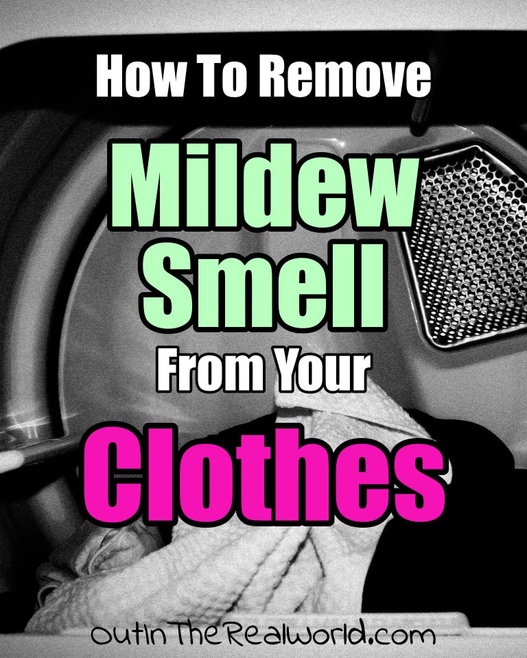 How To Remove Mildew Smell From Clothes - 2 easy mildew smell remover tricks to get rid of that musty moldy mildew smell from clean clothes towels and laundry